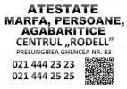 Atestate ARR (Transport Marfa, Agabaritice)